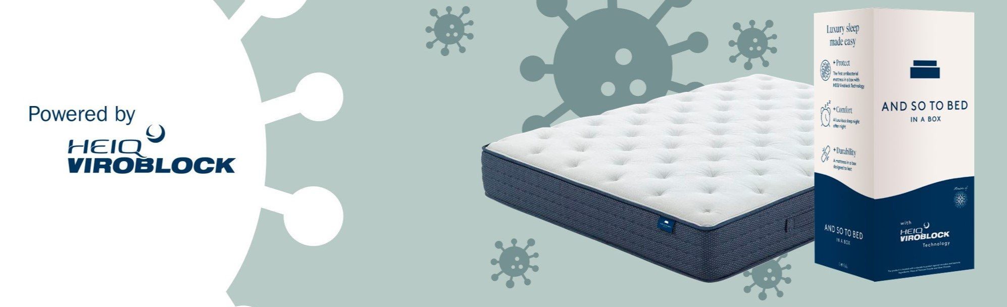 UK's first antimicrobial mattress in a box