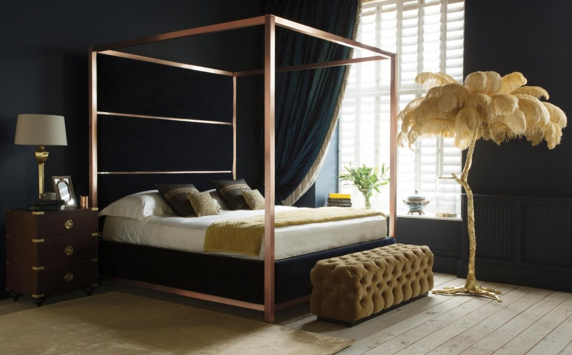 Rose Gold Bedroom Collection And So To Bed