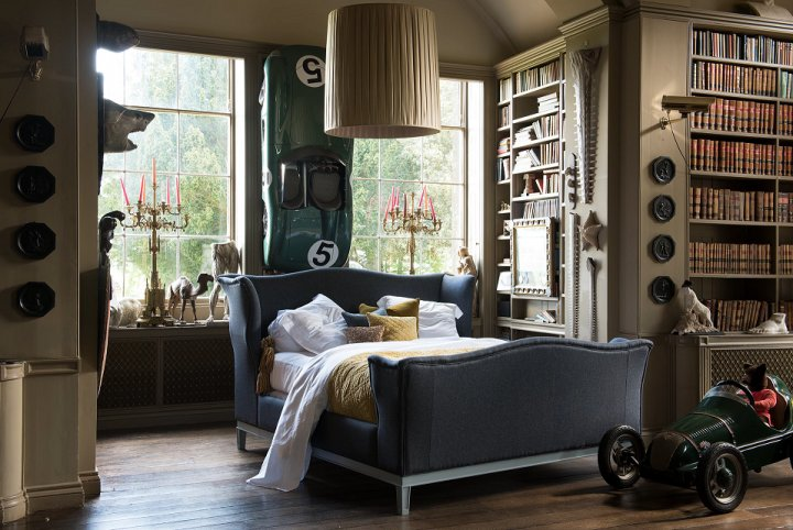 Churchill Remastered - Tweed Bedroom Ideas - And So To Bed