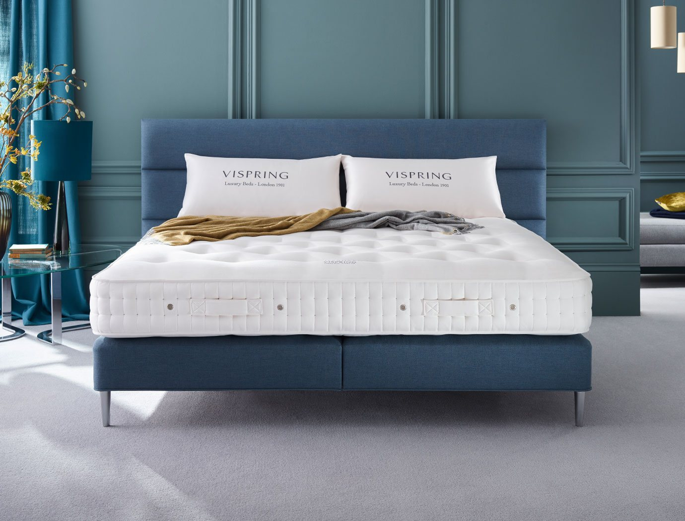 Vispring - Luxurious comfort and untroubled sleep.
