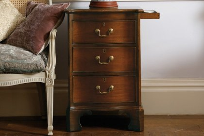 Eclectic Bedside Chest 3 Drawer