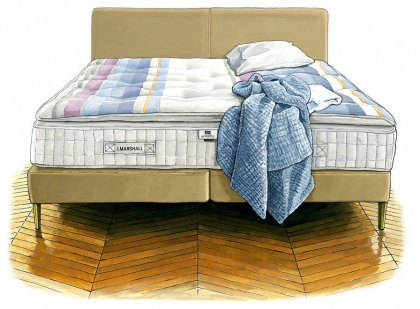 J. Marshall No. 3 Mattress & Divan