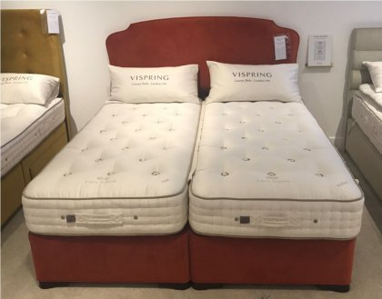 Vispring Tiara Superb Mattress & Divan with Eccleston Headboard