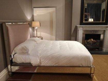 Bayswater Upholstered (King Size) Bed - Ex Display