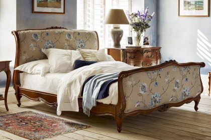 Louis XV Upholstered Bed
