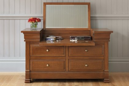 Manoir Dressing Chest  Armagnac Nickel Fittings