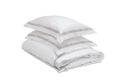 Mayfair 3 Stripe Pillow Case - 65 x 65cm