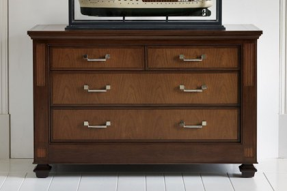Palais Chest of Drawers 4 Drawer Chest Avenhay Nickel Fittings