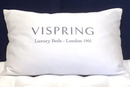 Vispring Hungarian Goose Feather and Down Pillow