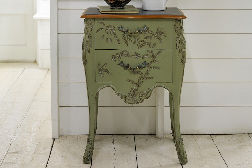 Floral Bedside Chest