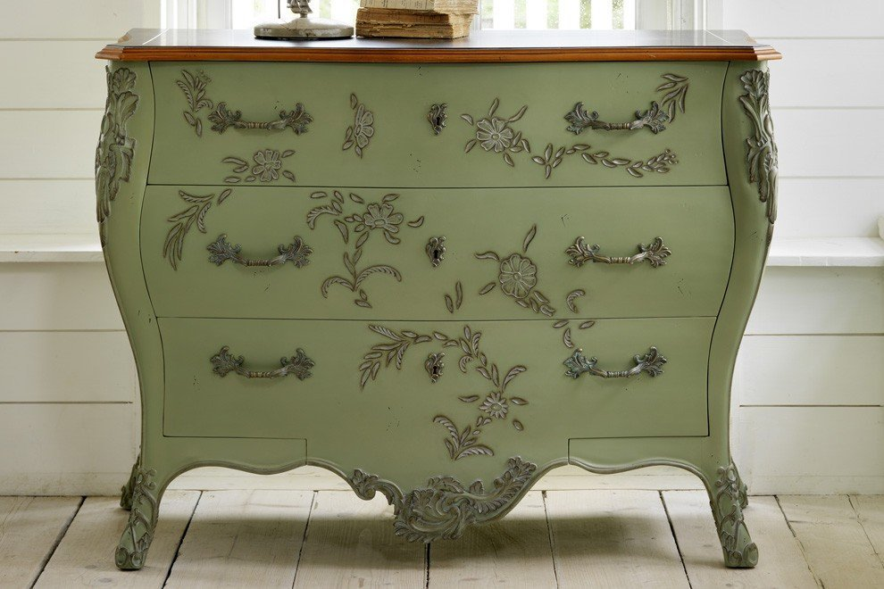 Floral Chest of Drawers