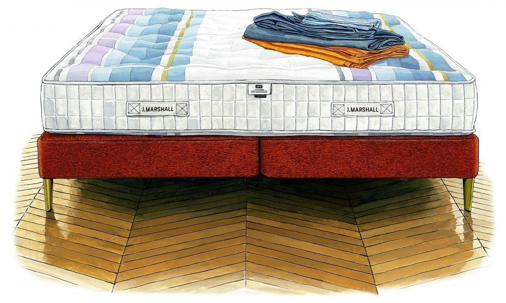 J. Marshall J. Marshall No. 1 Mattress & Divan Set