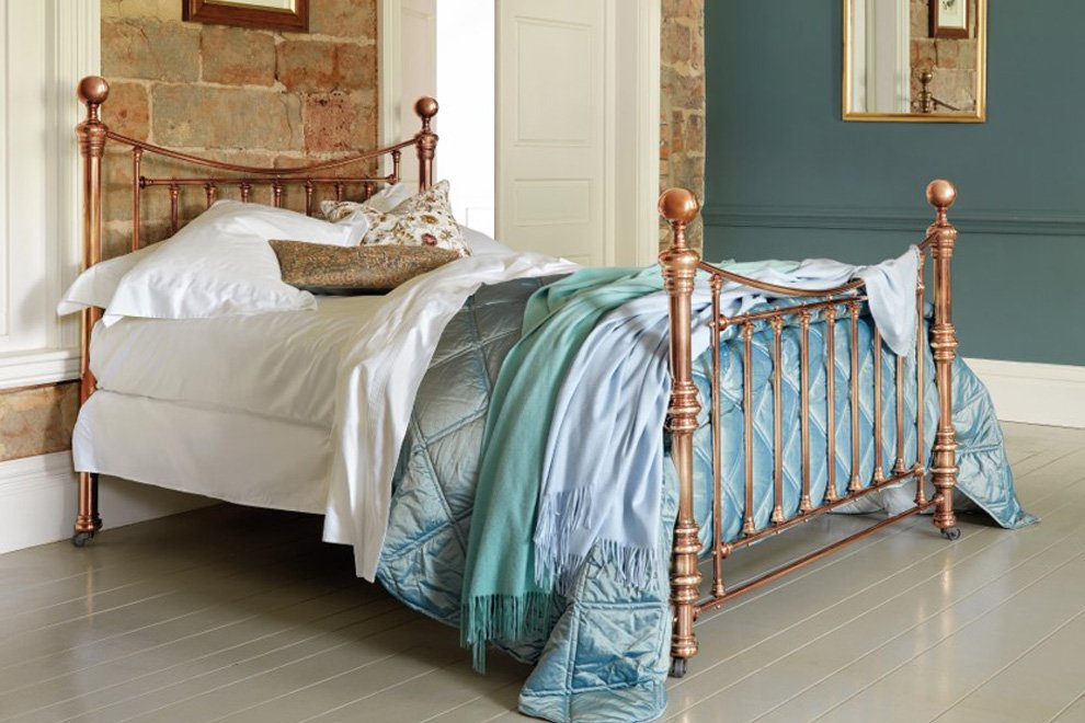 Brass, Nickel & Rose Gold beds