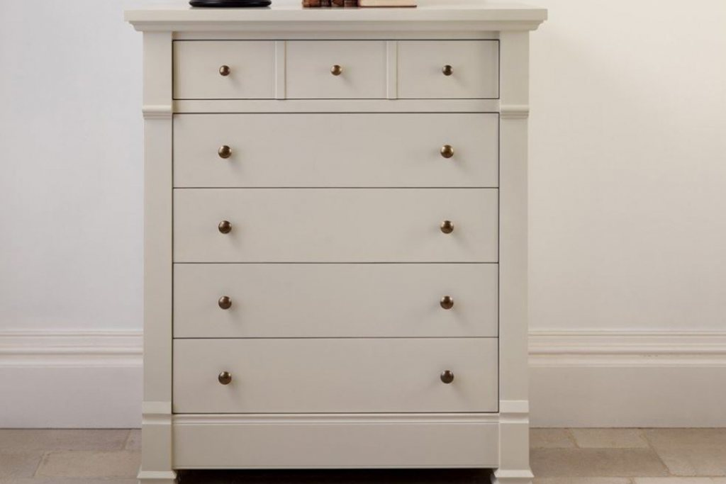 Manoir Painted Chest of Drawers (Brand New Overstock)