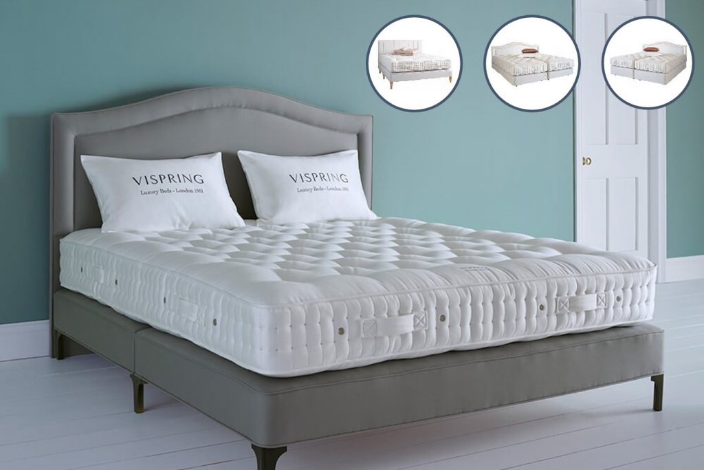 Vispring Wool De Luxe Divan Base Only