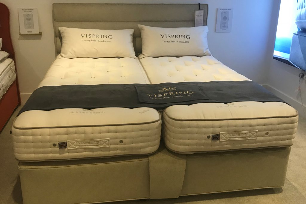 Vispring Sublime Superb Mattress & Divan with Triton Headboard
