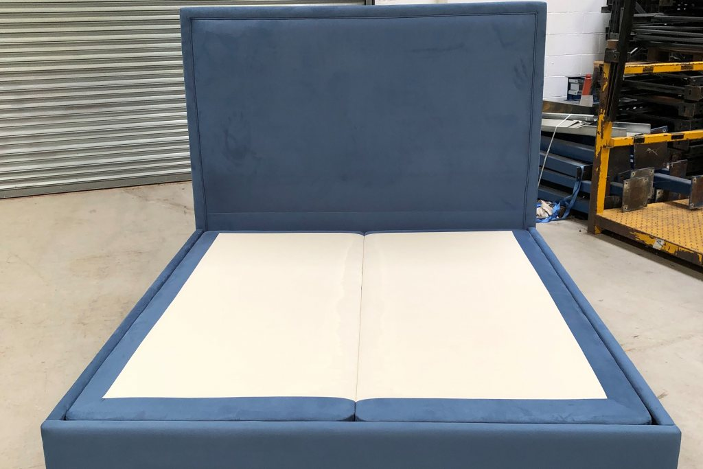 Boston Upholstered Bed Super King (180 x 200cm) - Ex Display