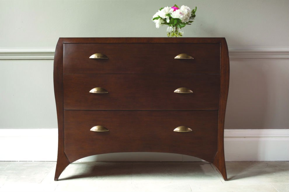 And So To Bed Mayfair 3 Drawer Chest of Drawers - Ex Display