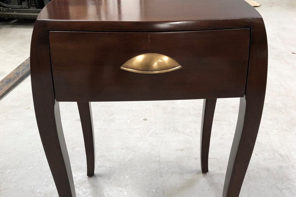 Mayfair 1 Drawer Bedside Table - Ex Display
