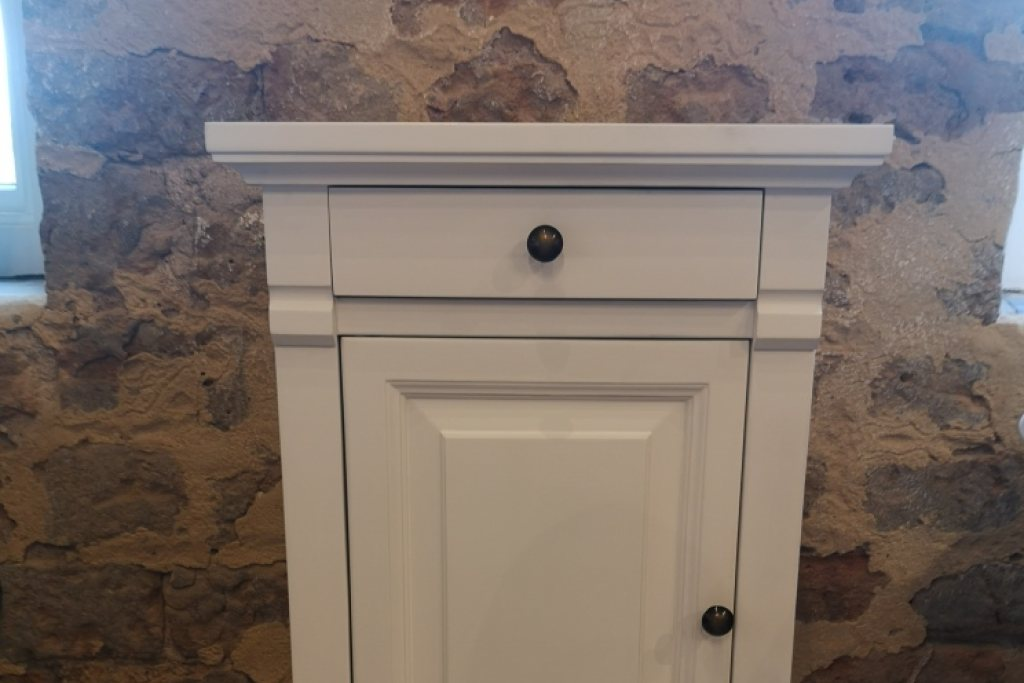 Manoir Painted Bedside Cabinet - Ex Display