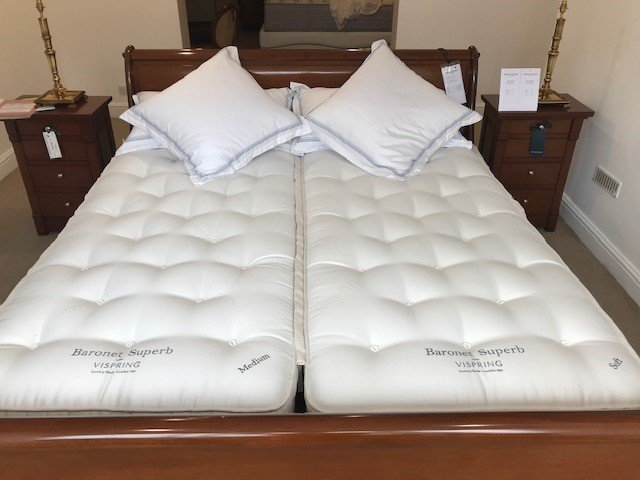 Vispring Baronet Superb Mattress & Base (Super King) - Ex Display
