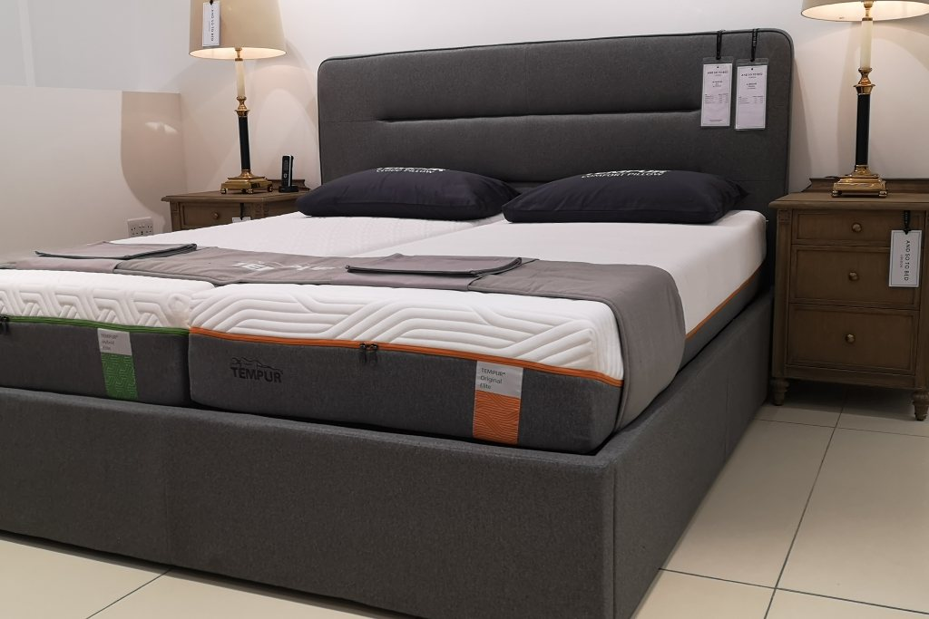 Tempur TEMPUR® Linear Ottoman Super King Size - Ex-Display