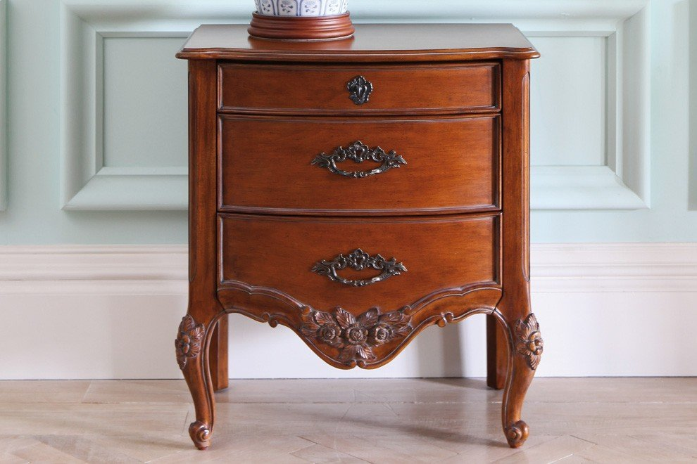 And So To Bed Louis XV Bedside Chest