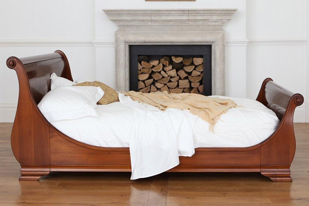 Luxury Wooden Sleigh Beds And So To Bed